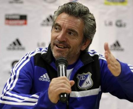 Juan Manuel Lillo tecnico de Millonarios